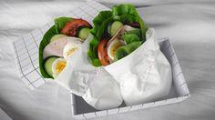 Fem gode lunsjer du vil ta med i matboksen Lunch Recipes, Healthy Recipes, Healthy Food, Scandinavian Kitchen, Happy Foods, Seasonal Food, Omelette, Fresh Rolls, Hummus