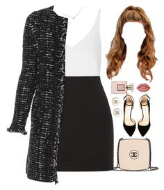 27 November, 2016 by jamilah-rochon on Polyvore featuring Topshop, Les Copains, Elizabeth and James, Jimmy Choo, Chanel, Mark & Graham and Lime Crime