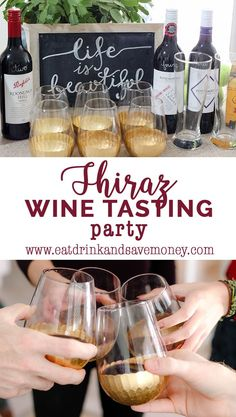 Love wine? Check out this easy way to put together a Shiraz wine tasting party and enjoy a taste of Australia.  | Eat, Drink, and Save Money A taste of Australia: Shiraz wine tasting party http://eatdrinkandsavemoney.com/2017/01/09/shiraz-wine-tasting-party/ #shiraz #wine