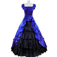 Gothic Victorian Cosplay Lolita Dress Costume Palace Ball Gown Fancy Party Dress #Unbranded #Lolitadress #CocktailChristmasHalloweenCosplayStage