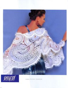 Hairpin crochet shawl  @Af's 15/4/13