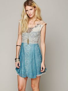 Free People Falling Leaves Dress, $198.00
