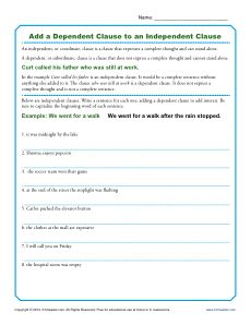 Worksheets Oxymoron Worksheet explaining oxymorons free printable activities and add a dependent clause to an independent clause