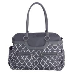 JJ Cole Satchel Diaper Bag - Stone Arbor (on the JJ cole site they have a matching bottle bag)