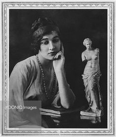 Yooniq images - Miss Kathleen Tennant (born 1894), later Kathleen Manners when she married the Marquis of Granby, later Duchess of Rutland, wife of John Manners, 9th Duke of Rutland. Pictured at the time of her engagement in 1916.