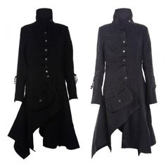 Details about WOMENS BELTED BUTTON COAT NEW LADIES HOODED MILITARY