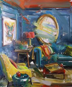 The Oval Mirror by Paul Wright