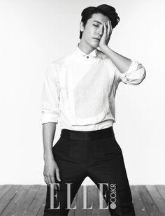 2014.07, Elle, Super Junior, Donghae