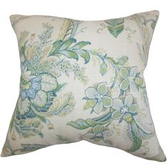 Eluned Floral Throw Pillow
