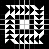 Examples of geometric Roman mosaics - free online pattern maker