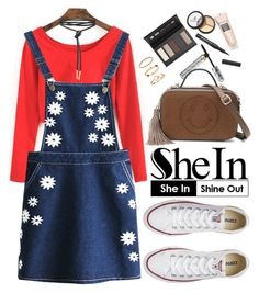 """""""Shein"""" by oshint ❤ liked on Polyvore featuring Borghese, Converse and H&M"""
