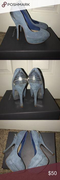 Pumps Royal blue pumps. So cute. H by Halston Shoes Heels