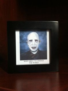Harry Potter Printed Wall Art  Lord Voldemort by OnlyOneMarkINC, $25.00