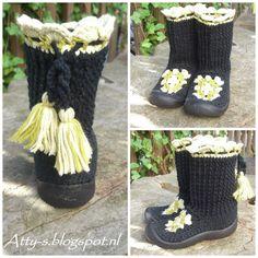 Atty's : Crochet Boots