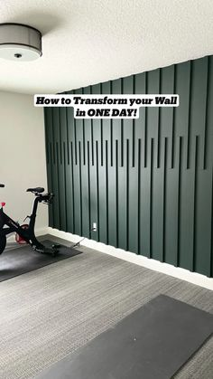 How to Transform your Wall in ONE DAY!