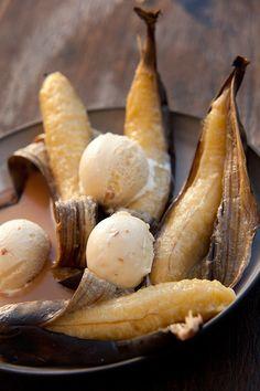 Whole Fire-Roasted Bananas - Bertus-Basson