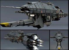 Babylon 5 Warlock Destroyer