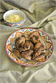 Asas de frango à marroquina