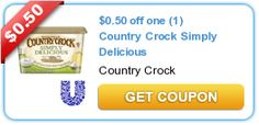 $0.50 off one (1) Country Crock Simply Delicious