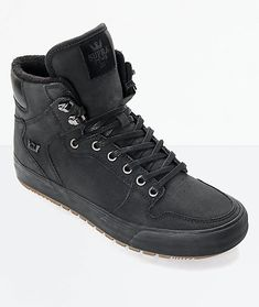 342d4742bc44 Supra Vaider Cold Weather Black   Gum Boots Cold Weather