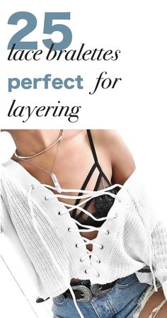 25 Lace Bralettes Perfect For Layering