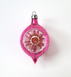 Vintage Glass Ornament. #