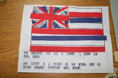 The cutting and gluing of this activity develops the students' fine motor skills. This is also a good activity to use when talking about patterns. This activity teaches the students about another place in the world. It would also be good for the kindergarteners to compare Hawaii's flag to their own state or county's flag.