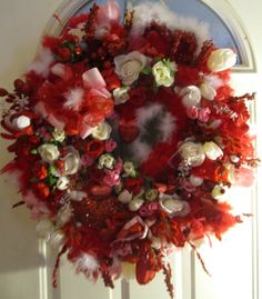Beautiful Valentines Day Wreath This is a Must by BeautyonTheWall, SOLD