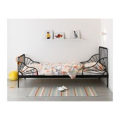 IKEA MINNEN ext bed frame with slatted bed base£85