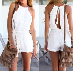 Ravishing Romper New without tags..Material: 65% Polyester/ 35% Cotton N/A Other