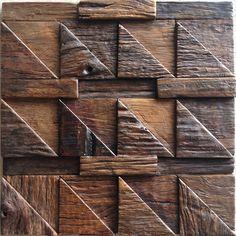 Decorazione a mosaico backsplash nave di legno mosaici pannello piastrelle per…