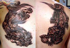 Fu Dog Tattoo