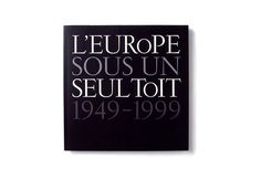Council of Europe / 50th anniversary commemorative book of the CoE. 1999