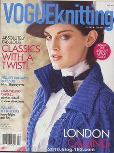 Vogue knitting --- 棒针女装(有部分提花) - 紫苏 - 紫苏的博客