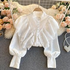 Kpop Fashion Outfits, Girls Fashion Clothes, Girl Fashion, Pretty Outfits, Cool Outfits, Prom Dresses Long With Sleeves, Blouse Outfit, Stylish Dresses, Feminine Style