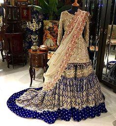 Queenly. #alixeeshan #bridals #gorgeous #royalblue #royalty #exquisite #instaglam #potd #mybigfatwedding