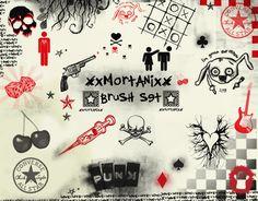 cool brushes by ~XxMortanixX on deviantART