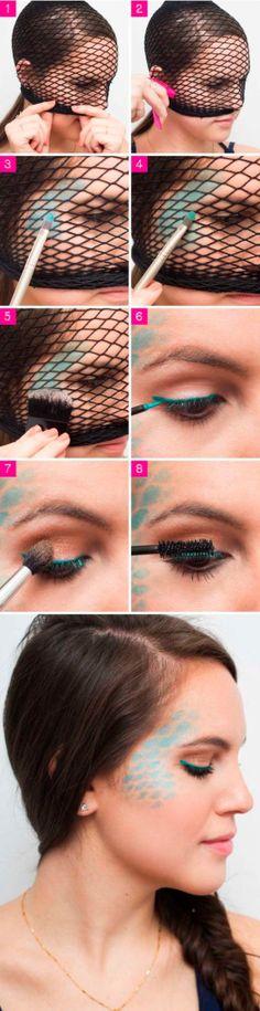 Ideia de maquiagem para o Carnaval