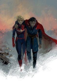 Marvel 3, Captain Marvel, Marvel Universe, Marvel Comics, Mr Doctor, Doctor Strange, Dr Stange, Marvel Characters, Fictional Characters