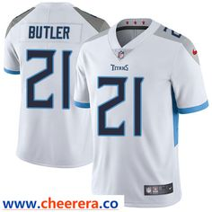 Nike Tennessee Titans  21 Malcolm Butler White Men s Stitched NFL Vapor  Untouchable Limited Jersey 462c415b9