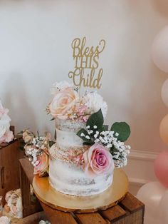 17 ideas baby girl cake christening party ideas for 2019 Girl Christening Decorations, Girl Baptism Centerpieces, Christening Cake Girls, Baptism Party Decorations, Girl Baptism Cakes, Shower Centerpieces, Balloon Decorations, Baptism Party Girls, Baptism Themes