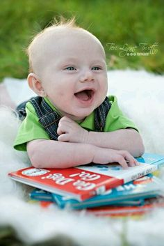 W/♡u forever 3 month pictures...with vintage books