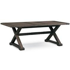 Found it at Wayfair - Mastercraft Collections Farmhouse Dining Table Dining Table In Kitchen, Dining Set, Dining Tables, Dining Rooms, Trestle Table, Buying A New Home, Modern Table, Farmhouse Table, Rustic Furniture