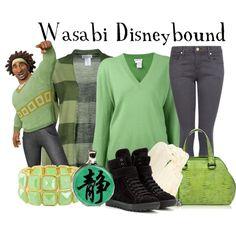 """Wasabi Disneybound"" by capamericagirl21 on Polyvore"