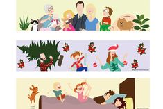 Les Mamans Winneuses Illustrations famille