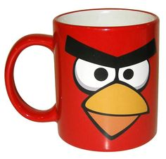 Angry Birds 11 Oz Ceramic Coffee Mug Red Angry Bird, Angry Birds, Coffee Art, Coffee Cups, Book Furniture, Holidays And Events, Home Gifts, Party Planning, Tea Pots