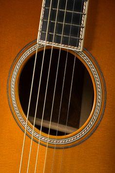Santa Cruz Guitar Company Cowgirl Guitar Soundhole