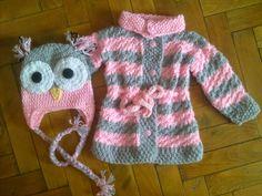 Hainute copii tricotate si crosetate la comanda: Pulovere Knitting, Crochet, Sweaters, Fashion, Tricot, Moda, Fashion Styles, Breien, Stricken