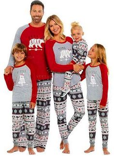 b72d53d156 Bear Family Matching Christmas Pajamas (1031245852)