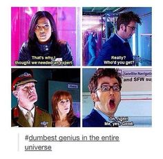 I love the tenth doctor